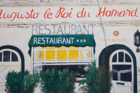 Restaurant Augusto - painting - 480X320