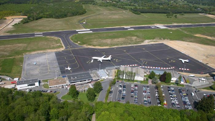 Flughafen Deauville Normandy