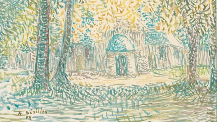 La chapelle de Grâce, 1972 - Andrée SEAILLES