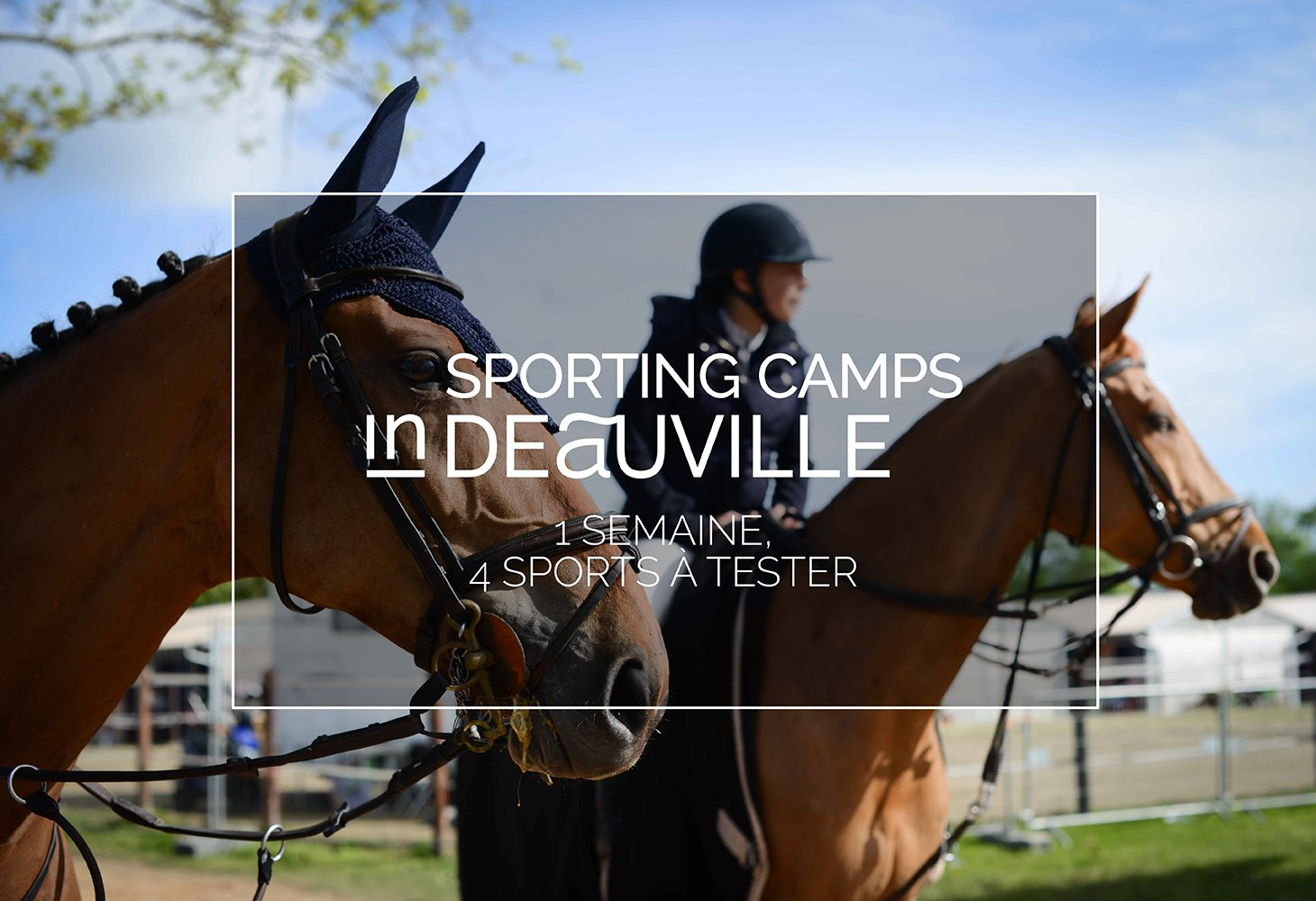 Visuel Sporting Camps inDeauville