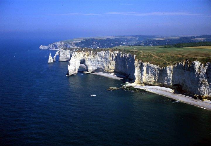 Héli Event - the Cliffs of Etretat 721x500