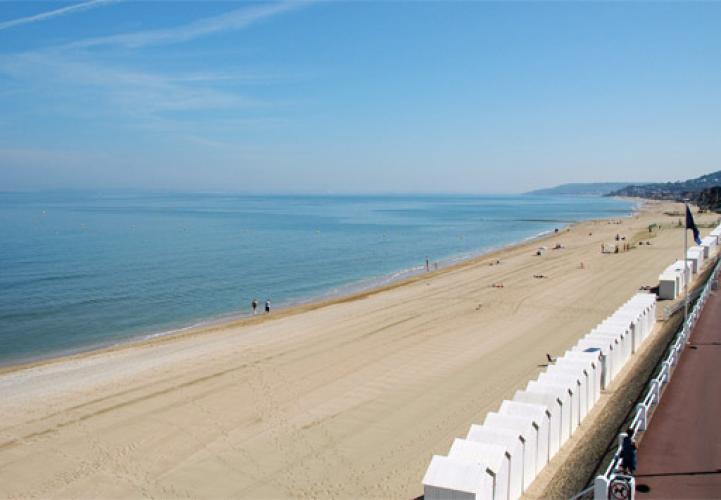 Agence Ifnor, la plage de Villers-sur-Mer