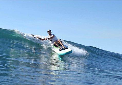 Wave-ski session with Concept Sport Emotion