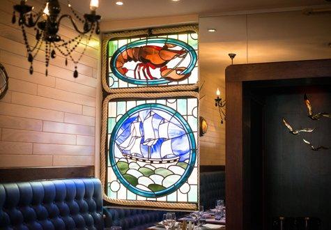 Restaurant Augusto - Glasmalerei - Naiade Plante - 475x330
