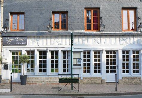 Restaurant Carpe Diem - facade - DBL 475X330