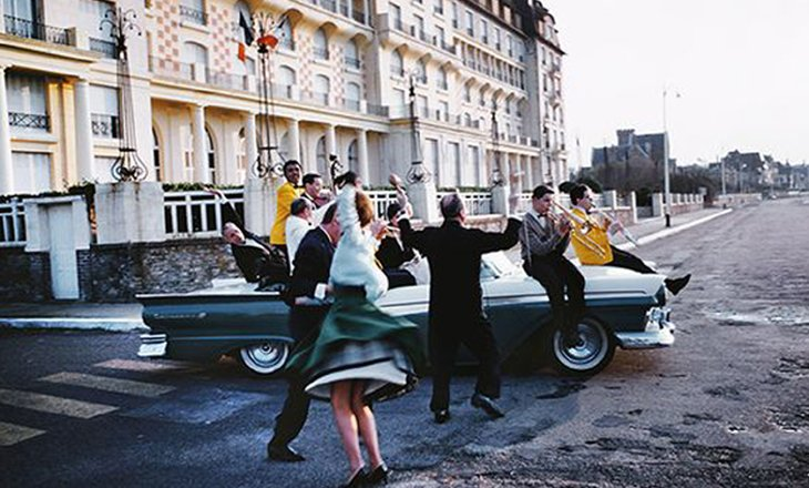 Do you like Brahm's - filming - view Hotel Royal by Yul Brynner
