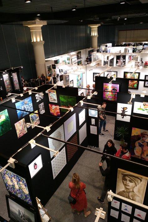 Art shopping - images du salon- 475x710