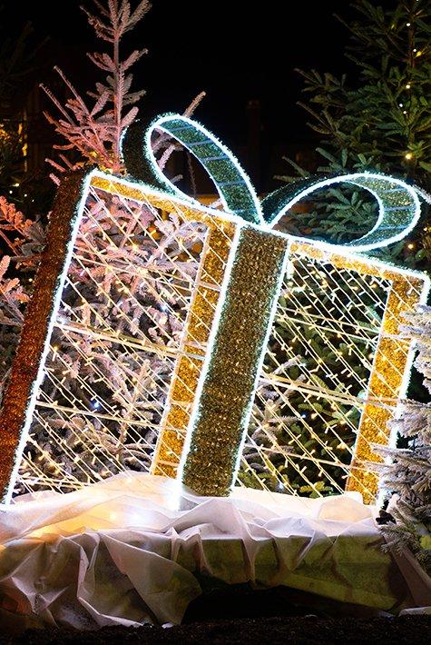 Christmas decorations Villers-sur-Mer