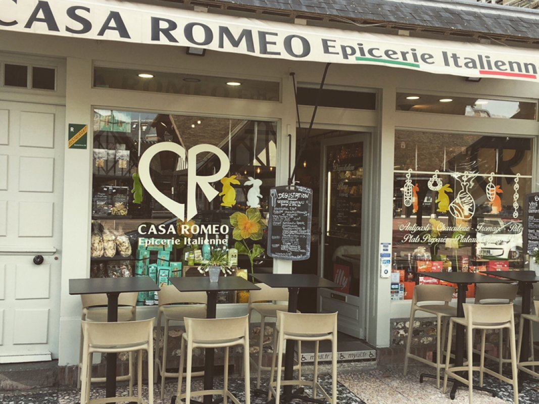 Casa Romeo, traiteur italien 600X800