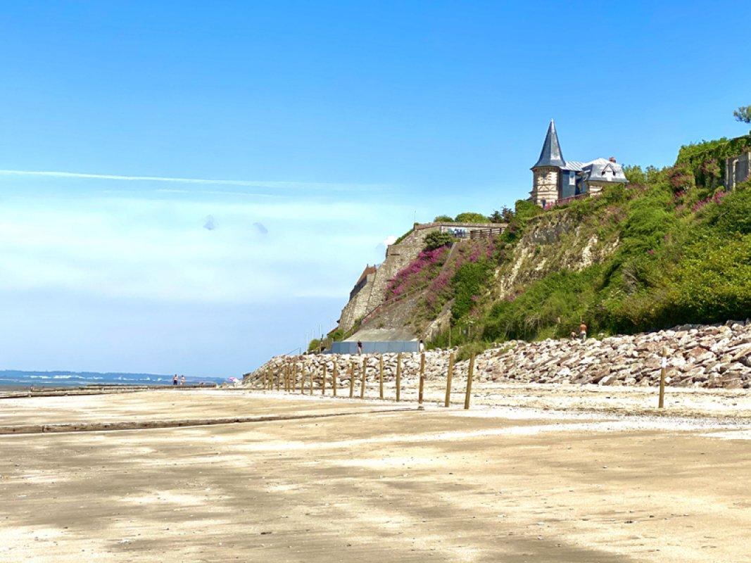 Villerville - la plage 800X600 - Beatrice Augier