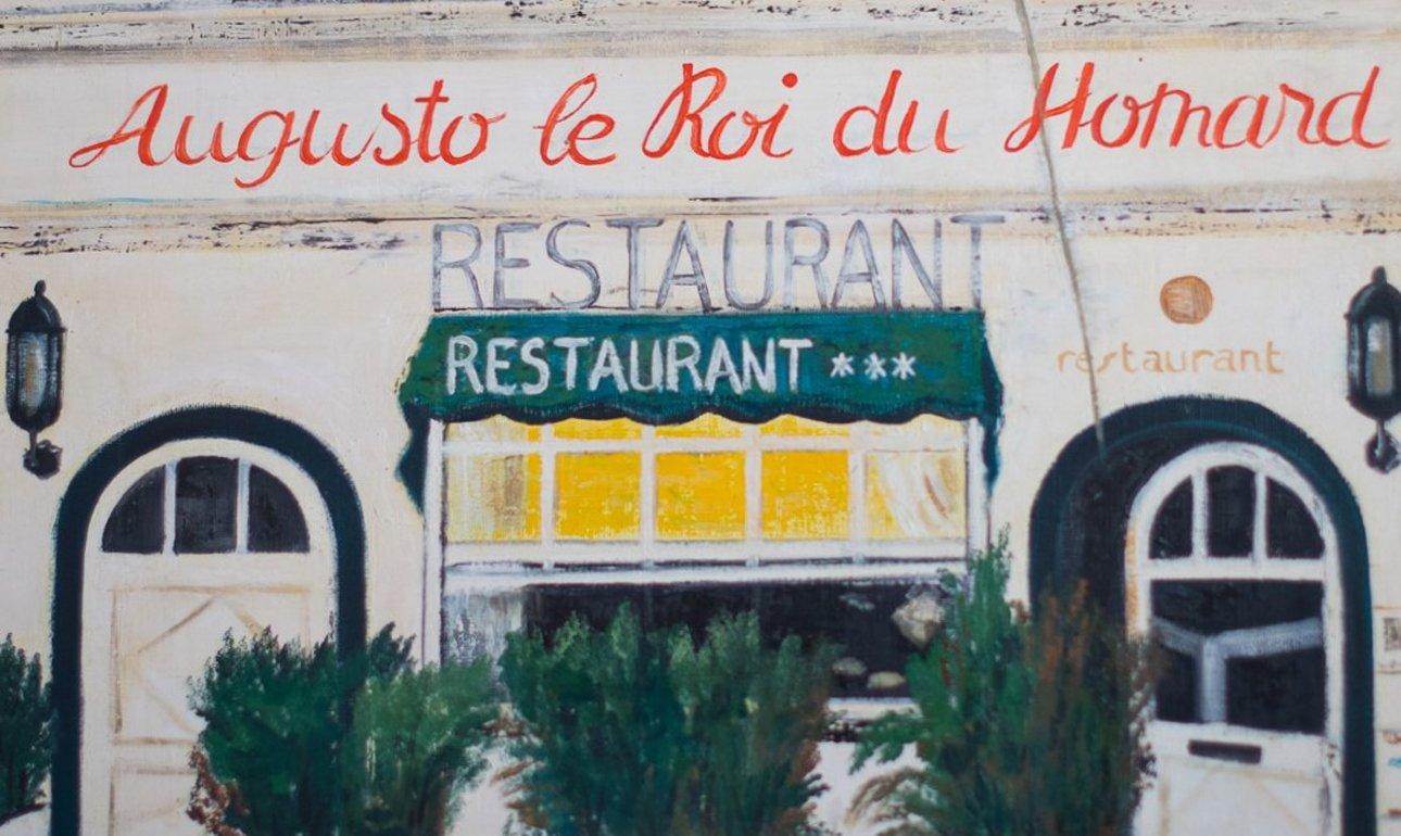Augusto Fassade in der Malerei