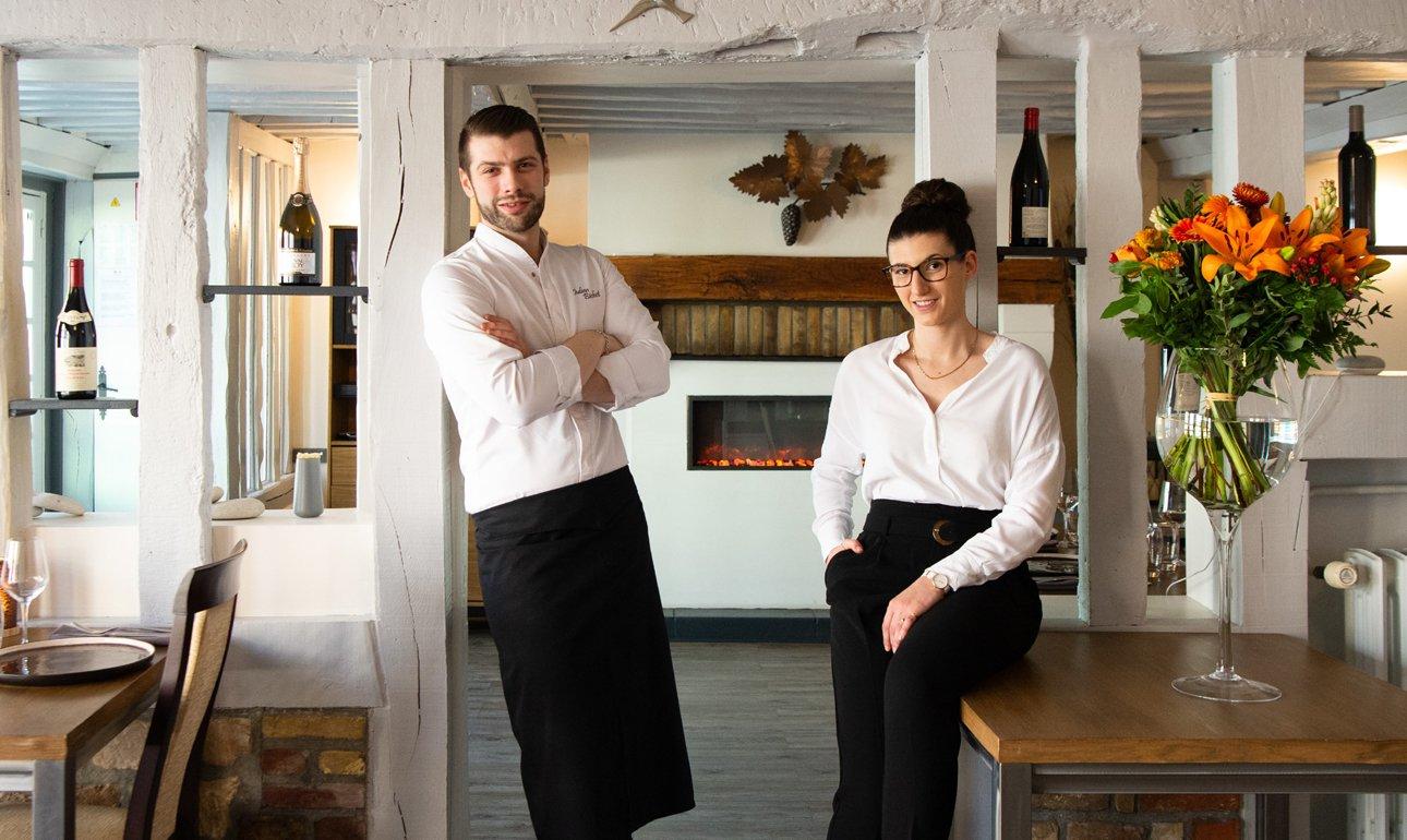 Restaurant Carpe Diem, portrait - Sandrine Boyer Engel 120X770