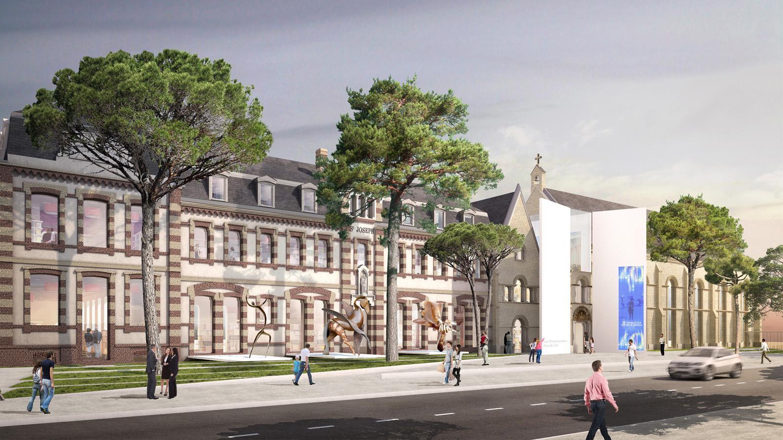 Le projet architectural deauville tourisme ev nements for Projet architecture pdf